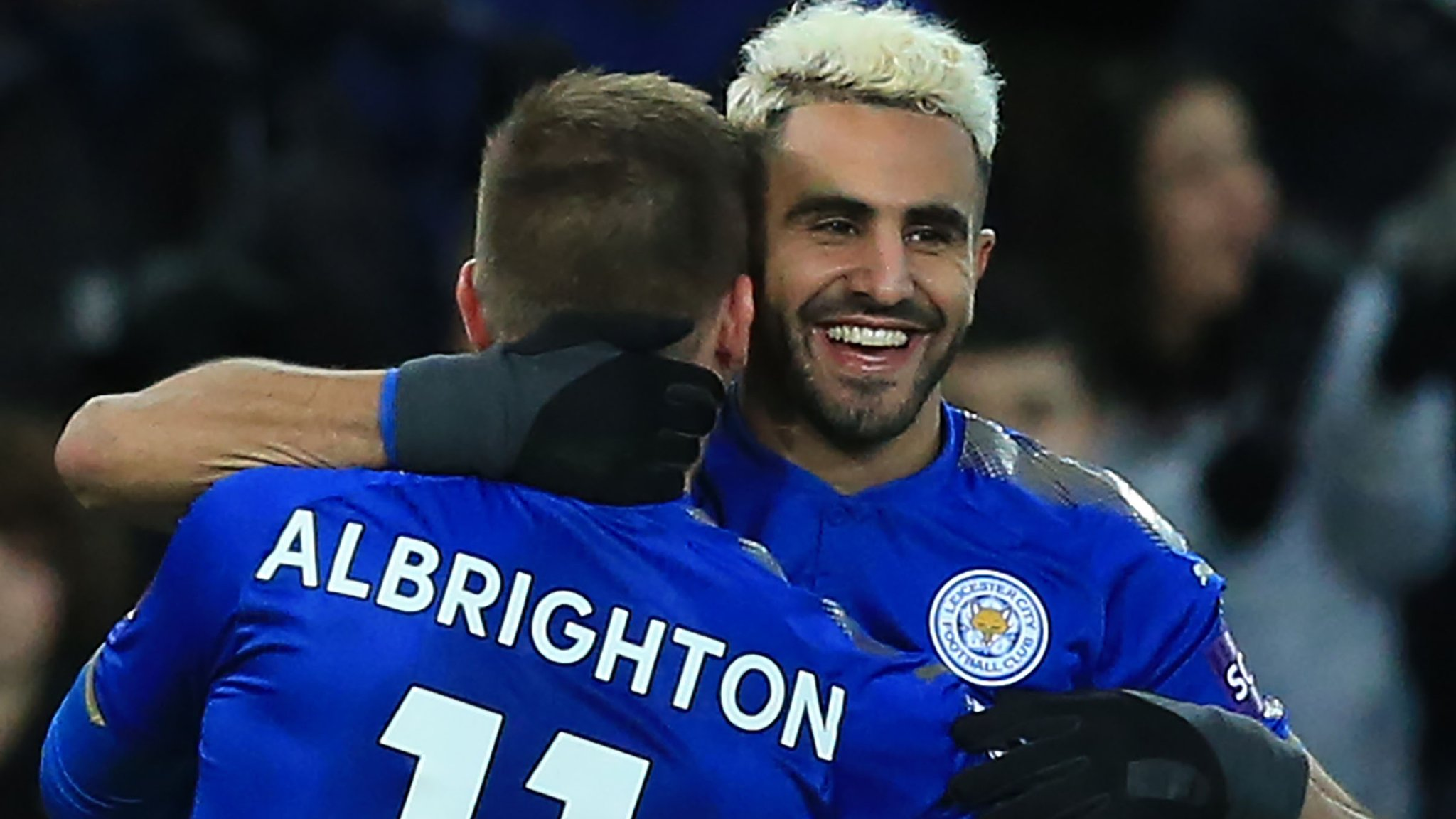 Mahrez returns to training with Leicester