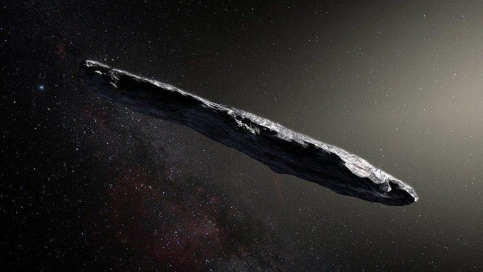 Вчені шукатимуть сліди прибульців на дивному астероїді