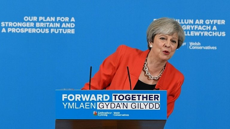 General election: Theresa May changes social care plans