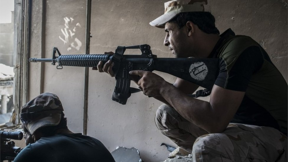 iraqi forces in western mosul