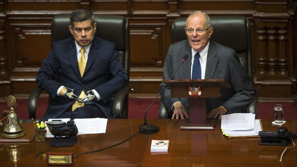 PPK en una intervención ante el Congreso.