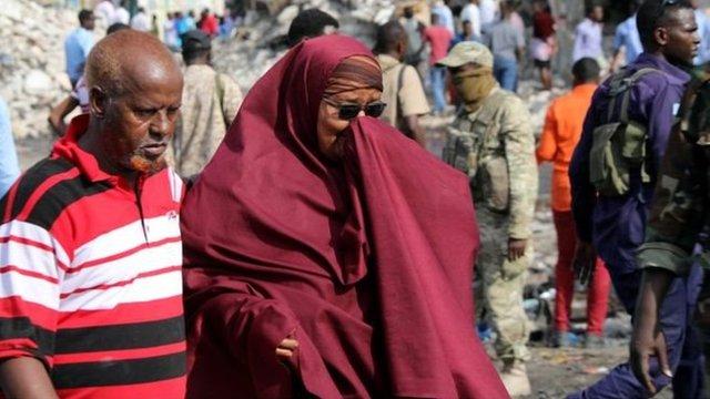 Muchos de los que murieron en la explosión del sábado no pudieron ser identificados.