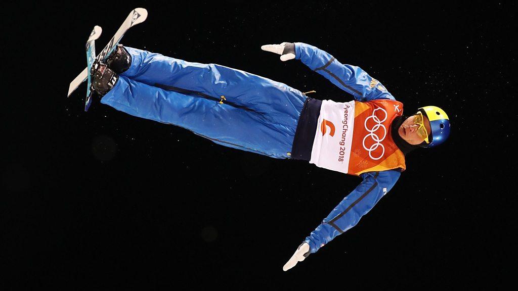 Winter Olympics: Ukraine's Abramenko wins the men's aerials freestyle skiing gold