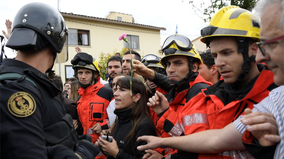 Catalonian Firemen