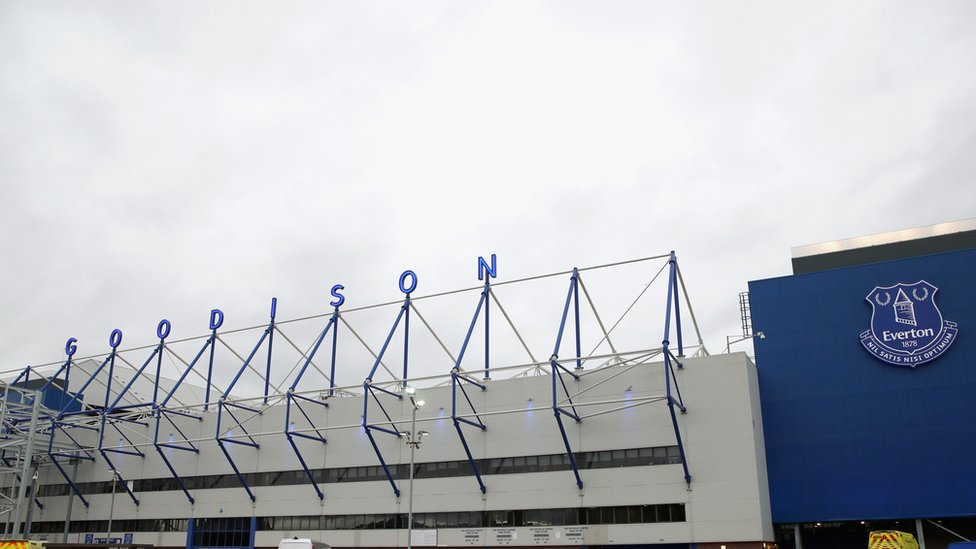 Three charged with battery after disturbance at Everton v Lyon