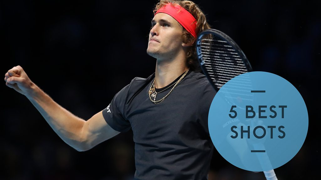 Watch: Alexander Zverev seals semi-final place with vital victory over America's John Isner