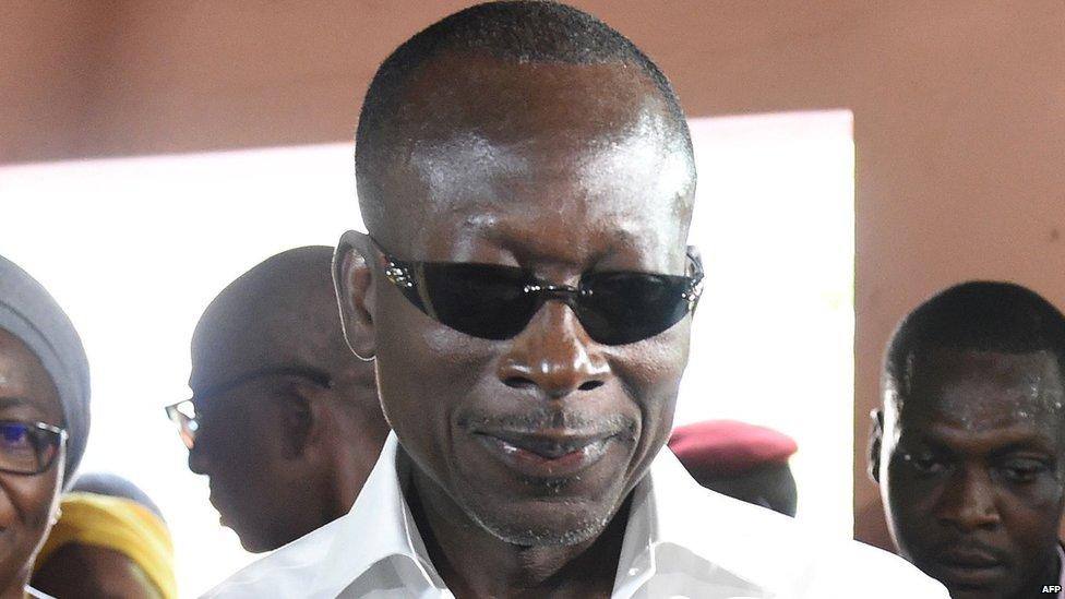 Benin president-elect Patrice Talon