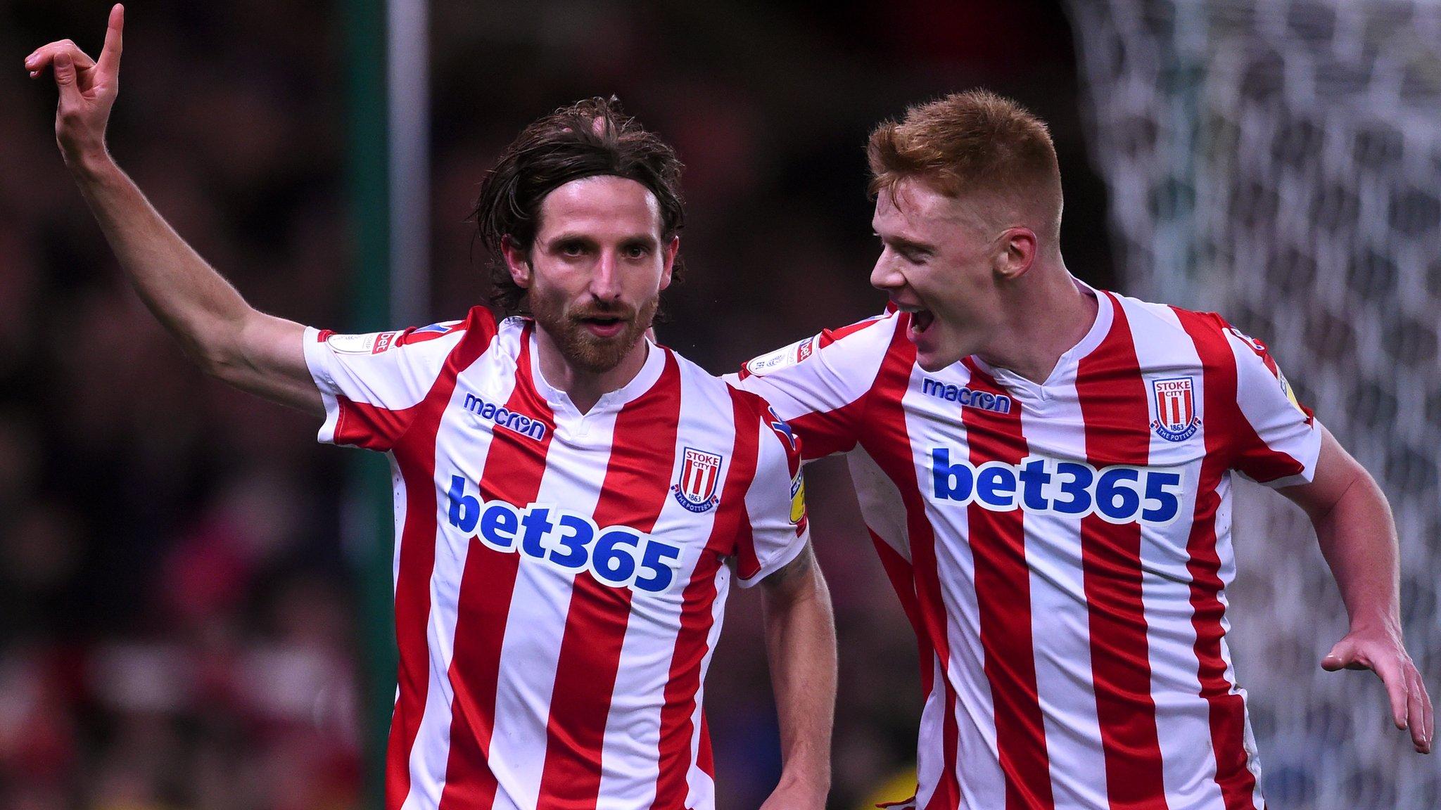 Allen on target as Stoke march on