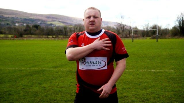 Pantyffynnon RFC's kicking hooker Nick James