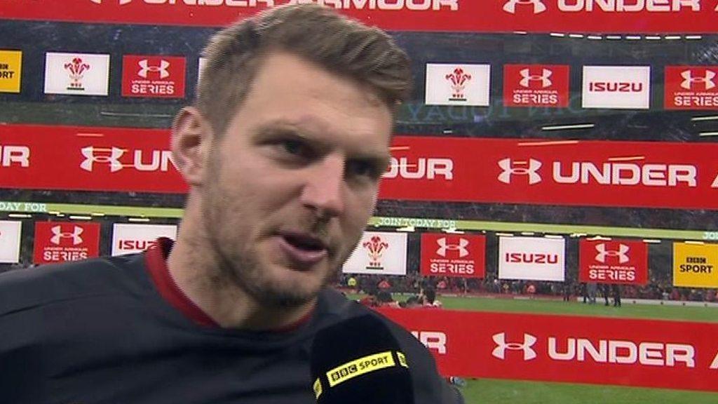 'Pretty good result' for Wales against Tonga - Dan Biggar