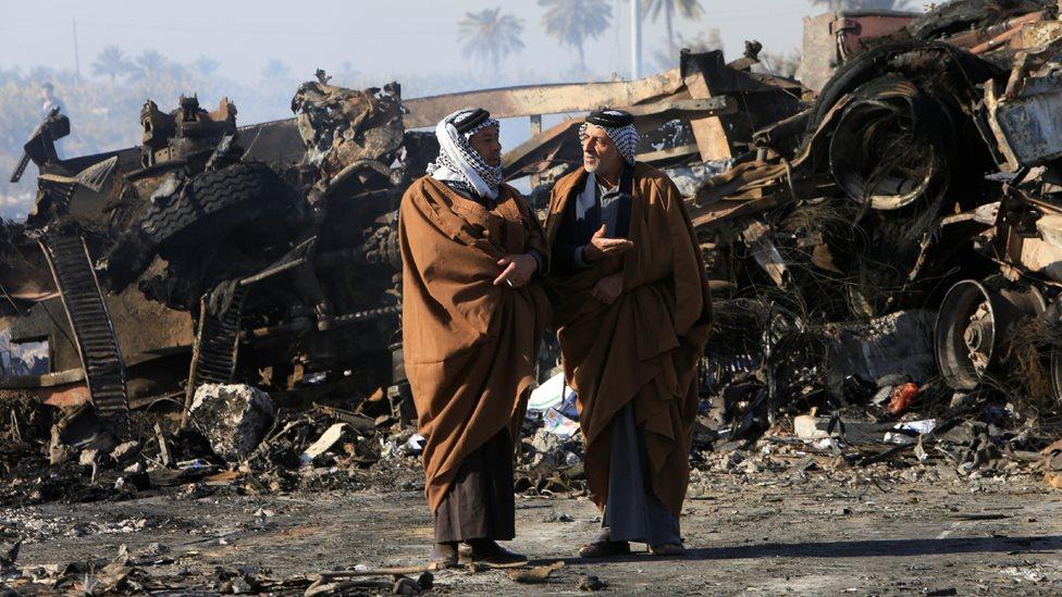 قتلى وجرحى بانفجار سيارة مفخخة في ساحة الشهداء ببغداد
