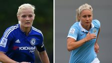 Katie Chapman and Steph Houghton