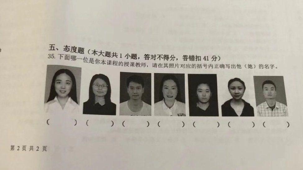 Іспит у Китаї: спробуй впізнати викладача за фото
