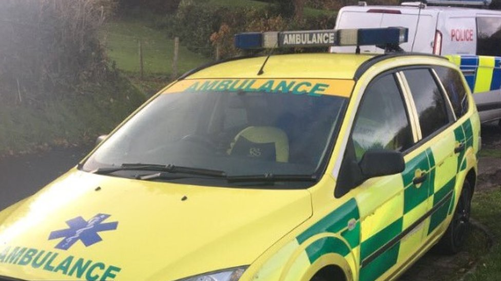 'Fake ambulance' pulled over by Swansea police
