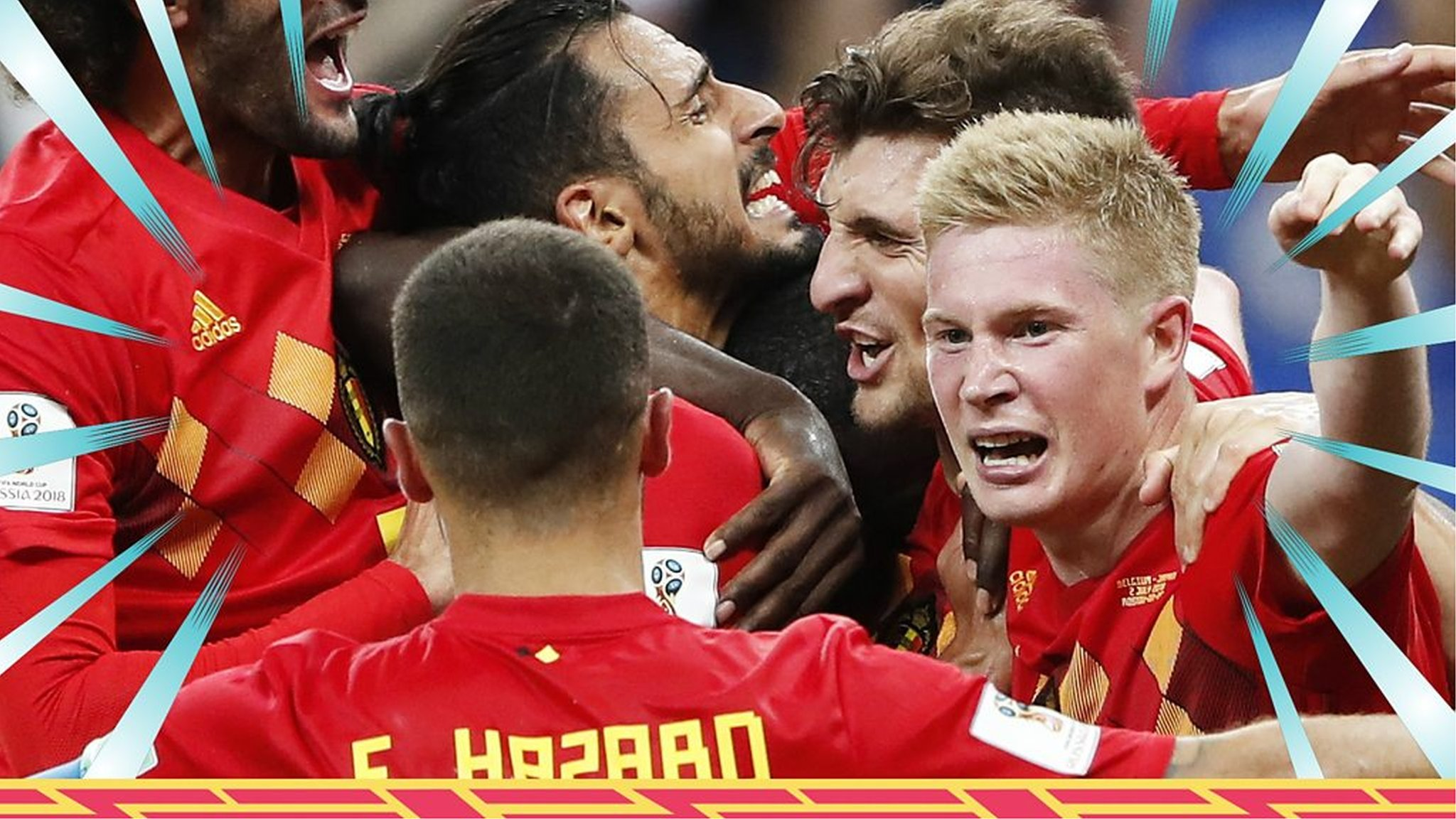 World Cup 2018: Belgium 3-2 Japan highlights
