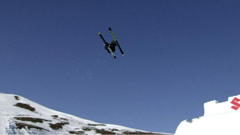 Swiss skier claims world first quad cork 1800