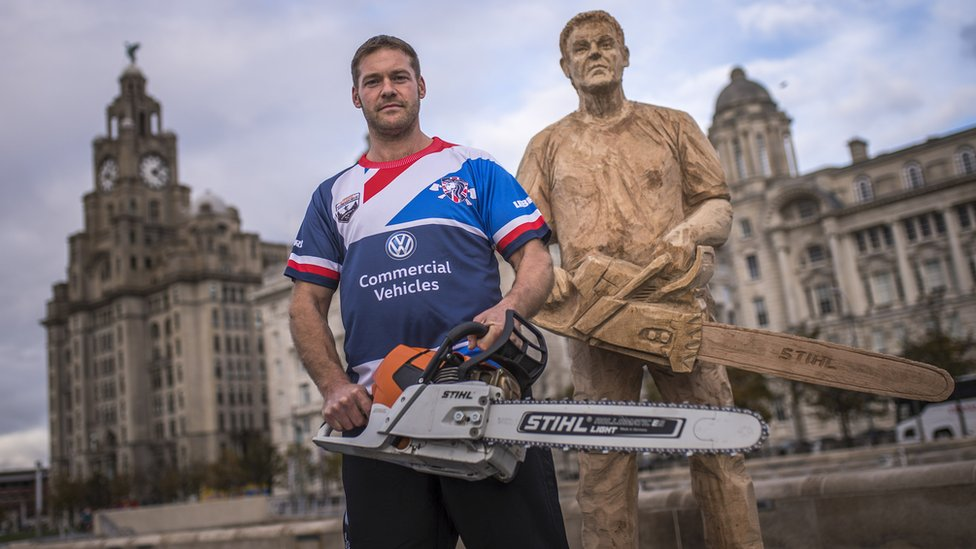 Welsh Timbersports champ eyes relay crown in Liverpool