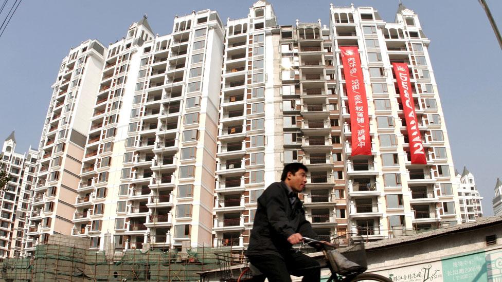Los precios inflados de las viviendas en las grandes ciudades preocupan a las autoridades chinas.