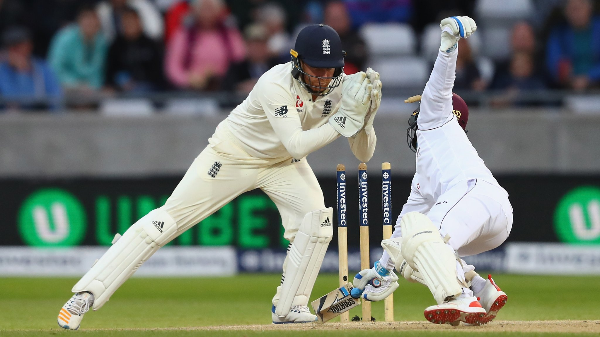England v West Indies: Hosts race to innings-and-209-run win at Edgbaston