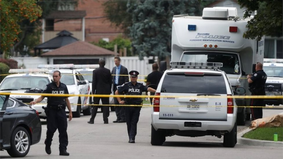 Toronto man charged over crossbow triple murder
