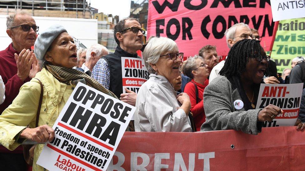 Labour anti-Semitism 'caveats' criticised