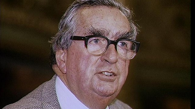 VIDEO: A look at Denis Healey's career...