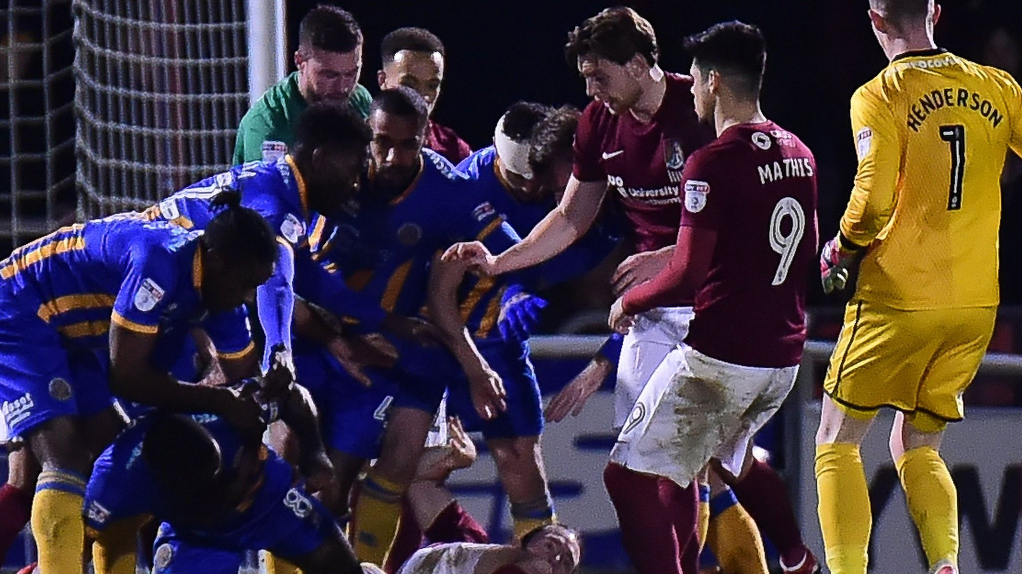 Shrewsbury miss chance to go top of League One