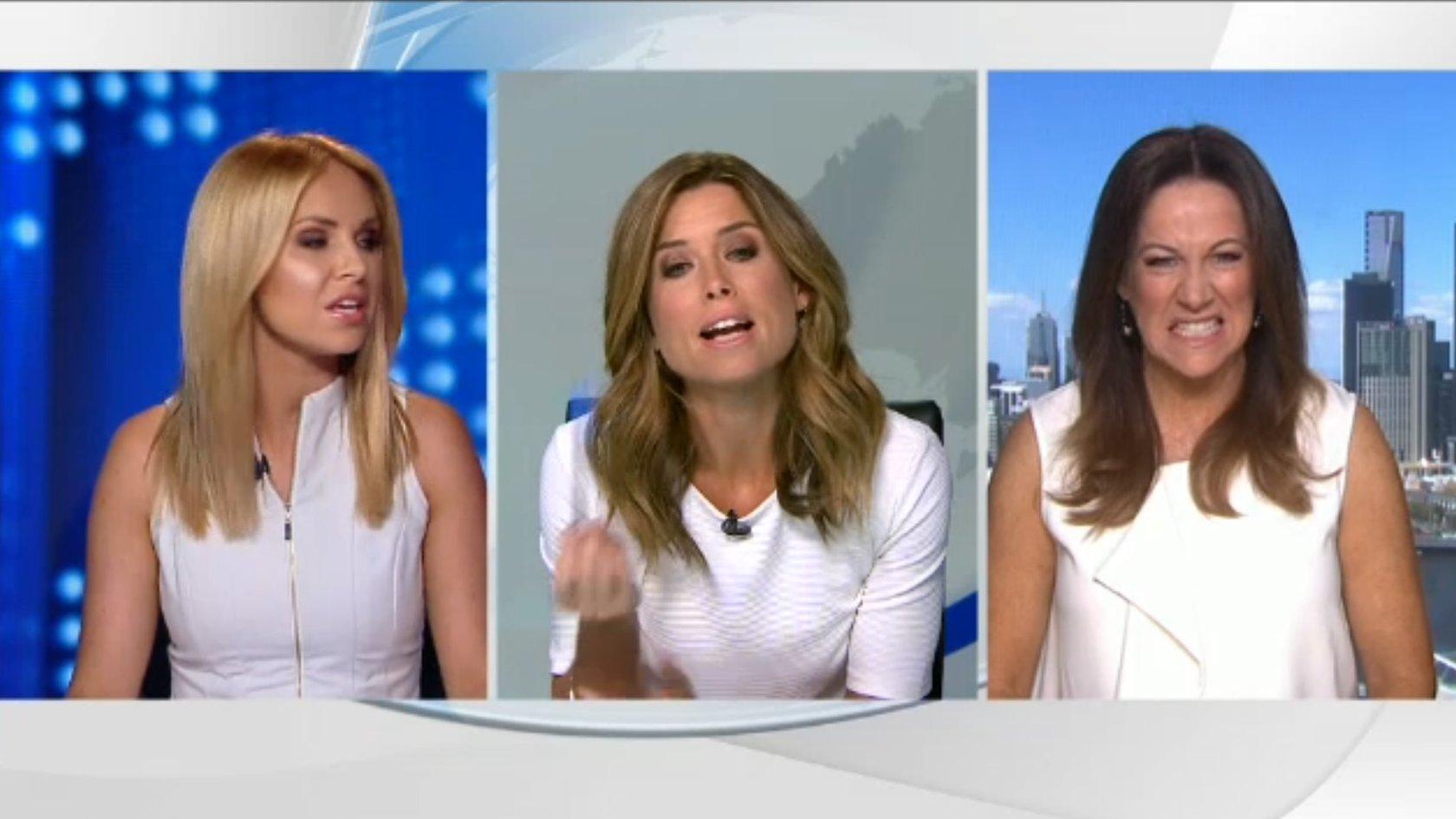 Australian presenter rants at all-white TV line-up