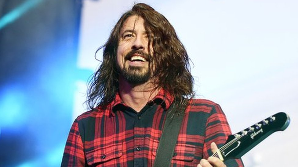 BBC News - Dave Grohl's mother to release book about raising rock stars
