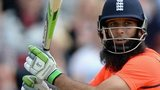 Moeen Ali batting for England