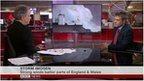 BBC Weather's John Hammond talks to BBC News about Storm Imogen,