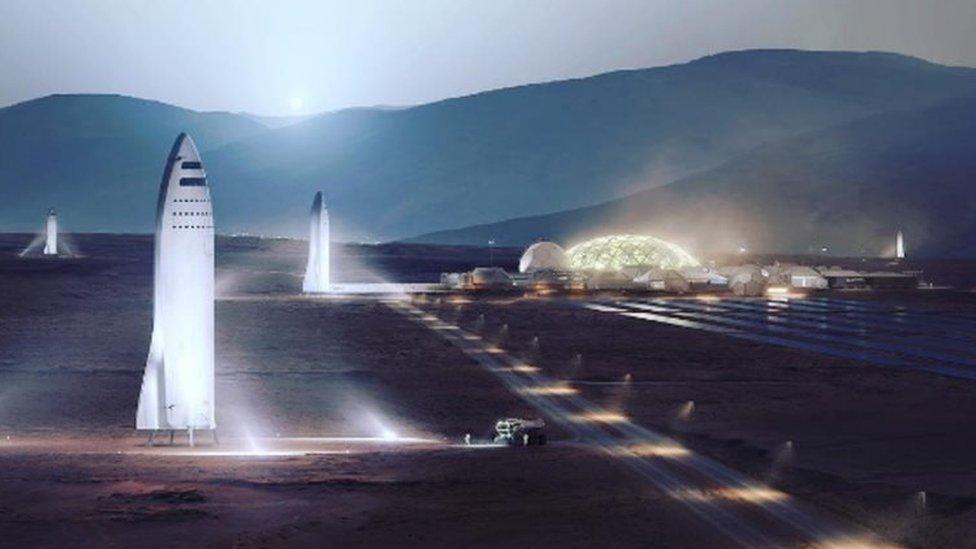 Mientras que Space X cree que la colonización de Marte puede comenzar en 2024, la NASA lo cree posible una década después.