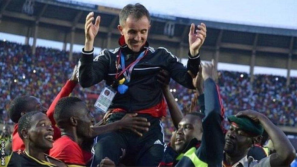 L'entraîneur de l'Ouganda critique les changements apportés à la CAN