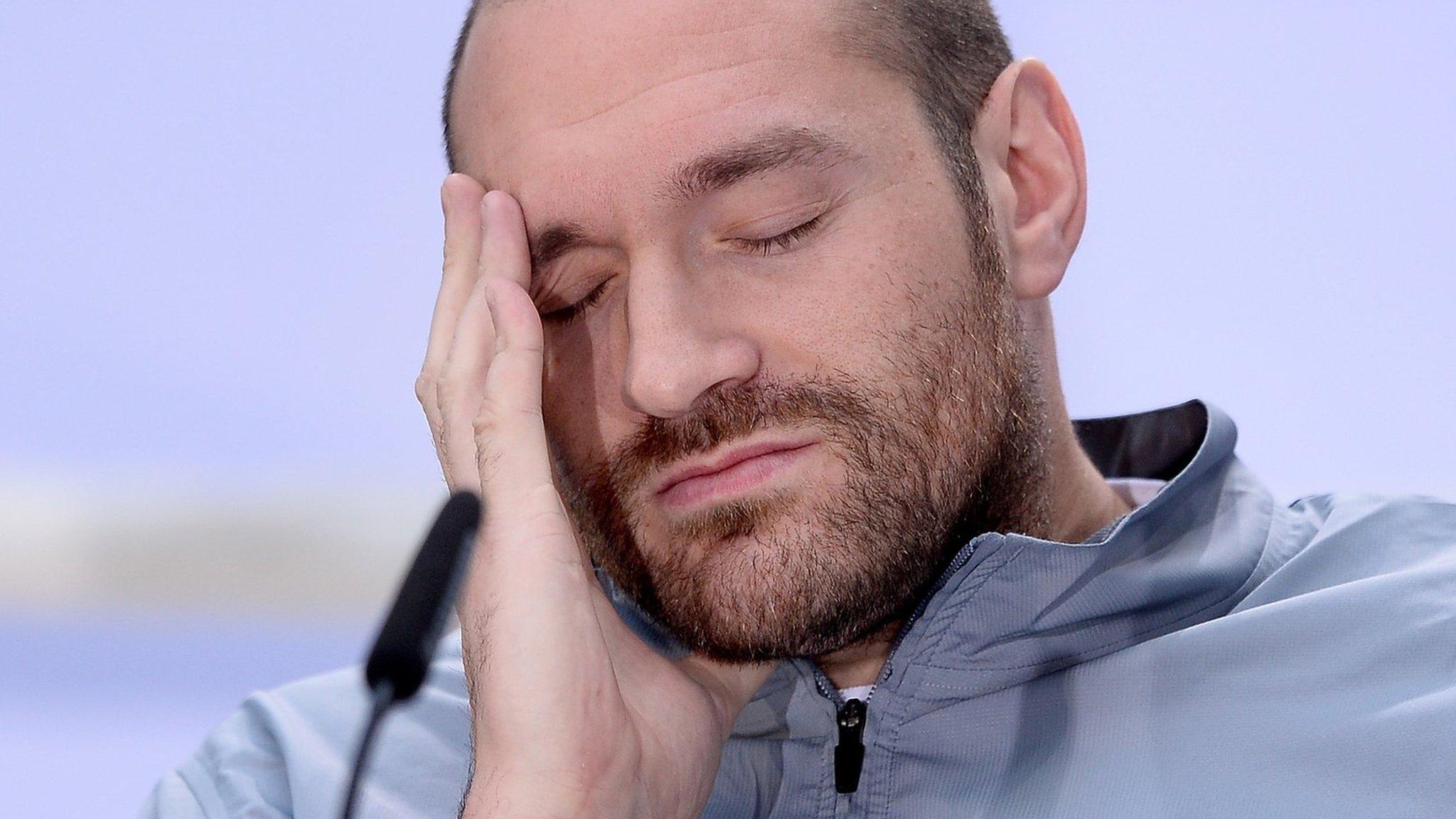 <![CDATA[Wladimir Klitschko v Tyson Fury postponed: World heavyweight rematch on hold]]>