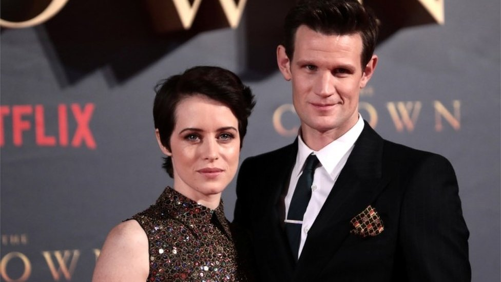 Claire Foy and Matt Smith