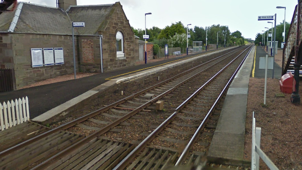 Scottish railway station is least used in Britain