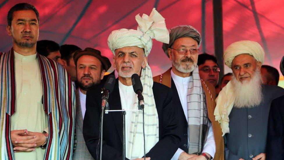 اشرف غنی خطاب به طالبان: اگر افغان هستید، به روند صلح بپیوندید