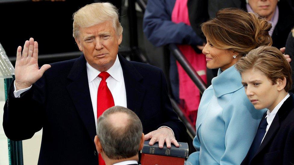 US$107 millones fueron recaudados por el comité de investidura de Trump.