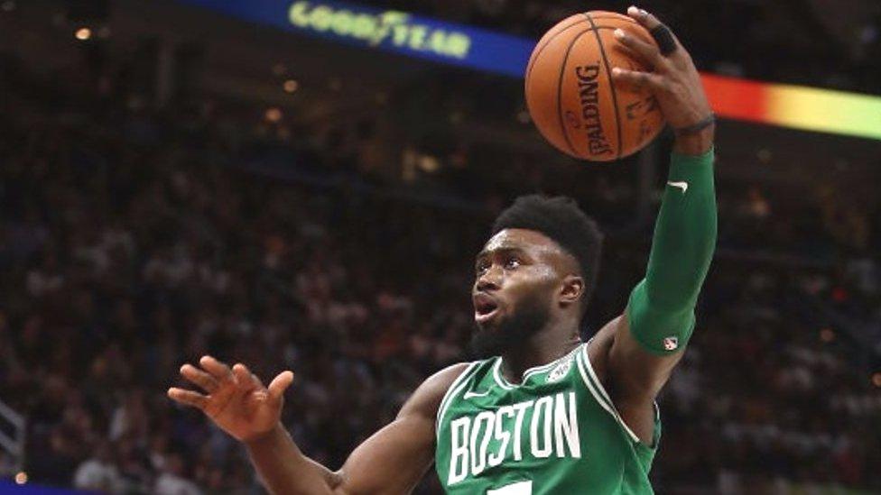 NBA: Jaylen Browns razzle dazzle features in best plays of the week