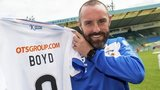 Kris Boyd is now in his third spell at Kilmarnock