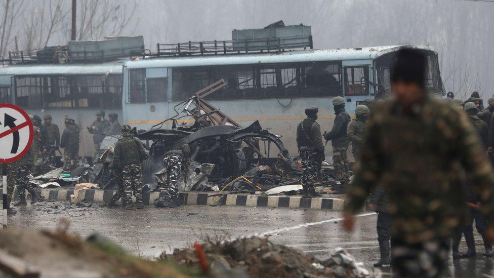 India calls for sanctions against Jaish-e-Mohammad after Kashmir blast