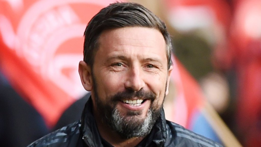 Aberdeen boss McInnes has told club he is staying, says chairman