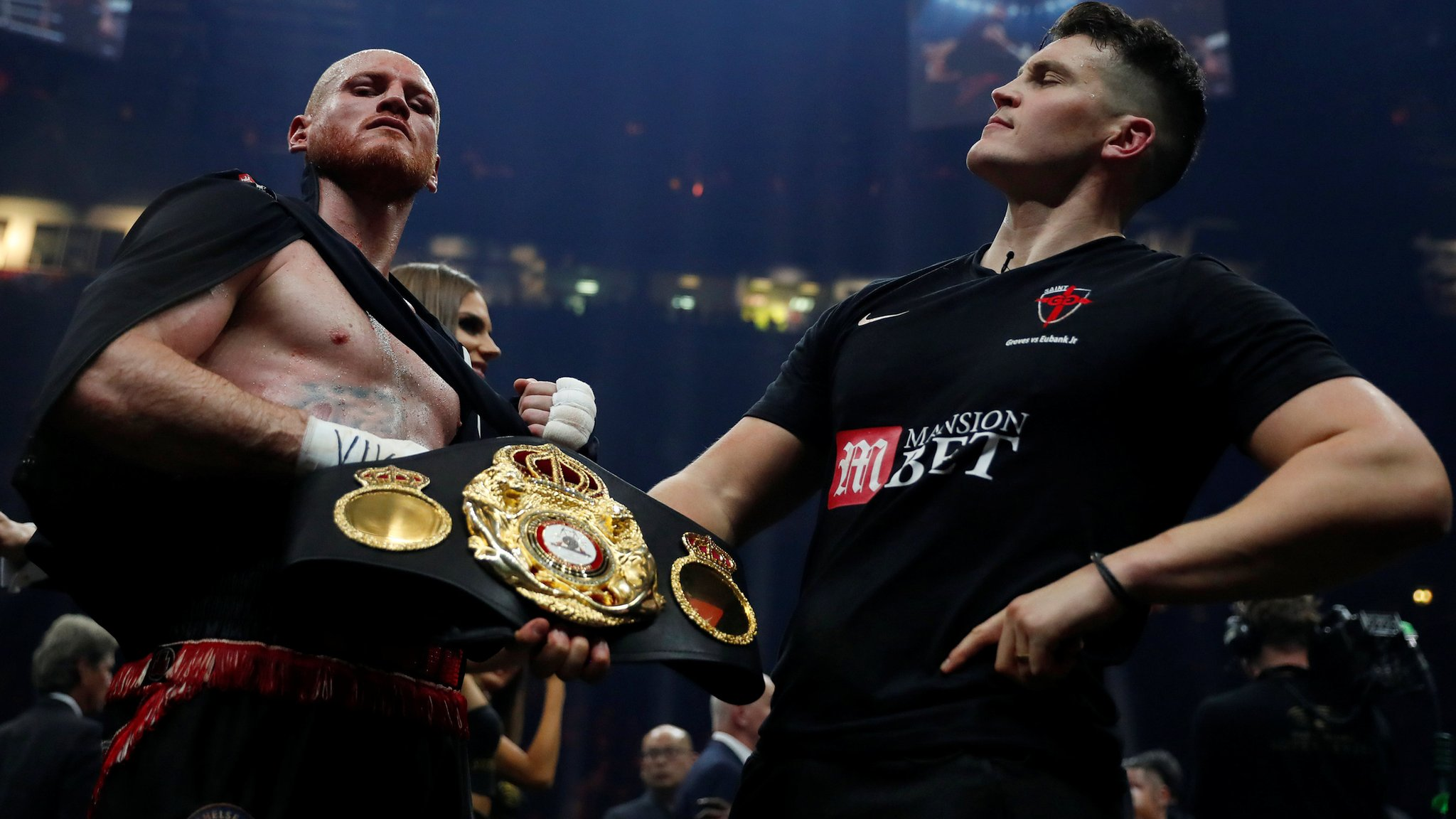 Groves beats Eubank Jr to retain WBA title