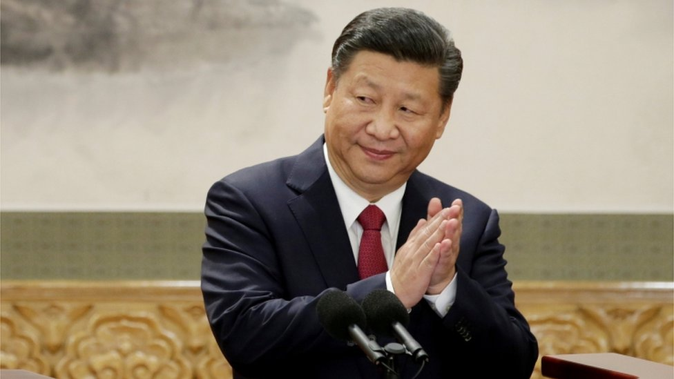 Presidente de China, Xi Jinping.