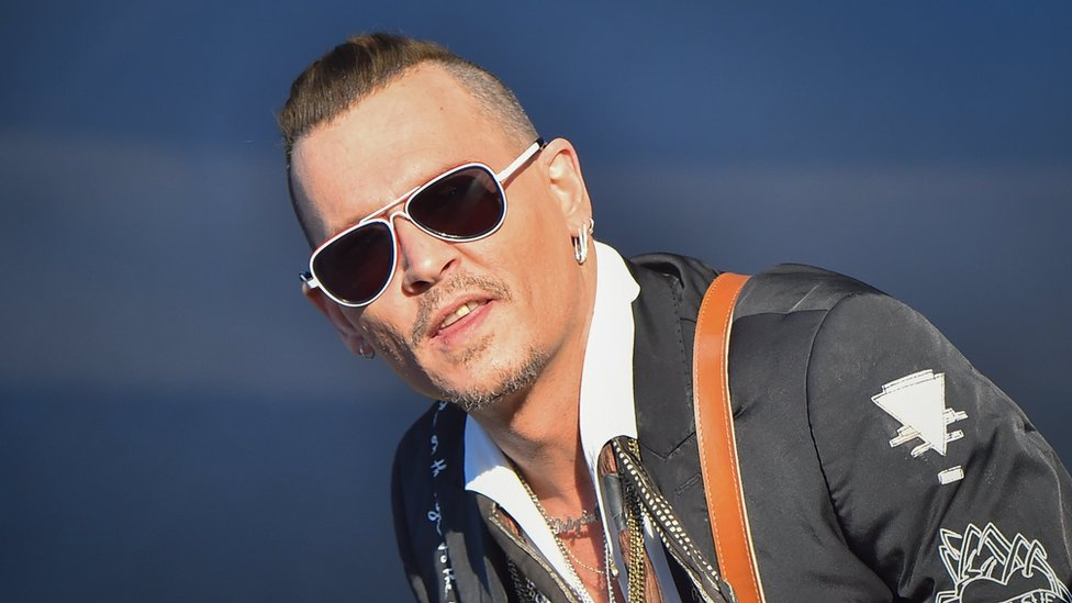 40ccc9d0f32 Johnny Depp  punched crew member in drunken tirade  Court documents filed  in Los Angeles claim Depp punched a crew member twice in the ribs on  Notorious BIG ...