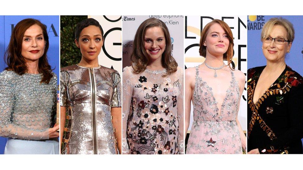 Candidatas a mejor actriz en los Oscar 2017