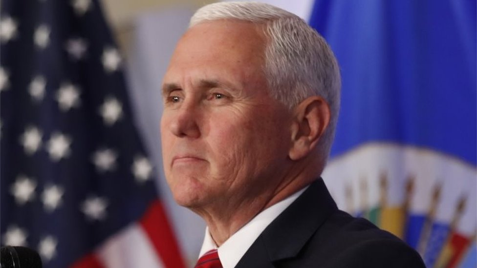 North Korea says US Vice-President Pence's comments 'stupid'