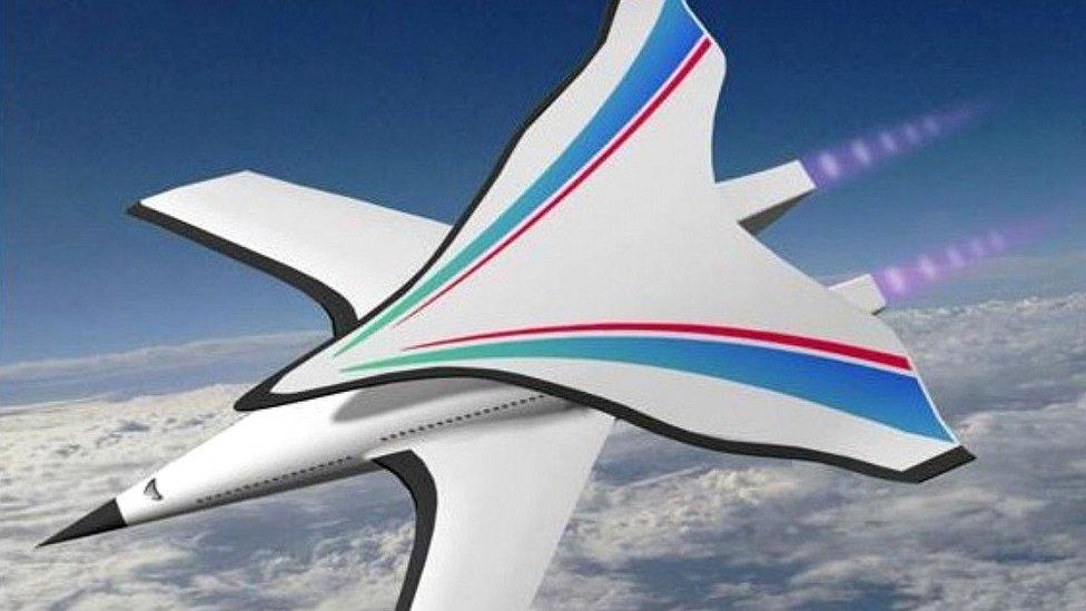 Propuesta de diseño de avión hipersónico chino (Foto: China Science Press)