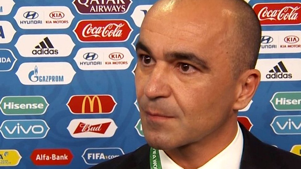 World Cup: Belgium manager Roberto Martinez says drawing England is 'very special'