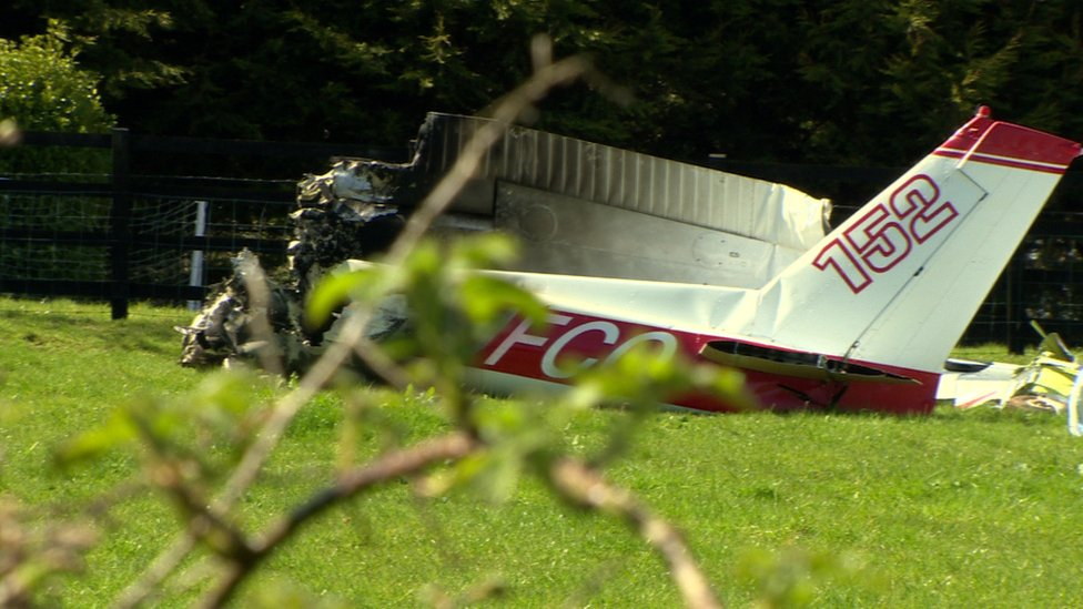 Truth or Not? Pilot lost control before fatal crash near Nutts Corner